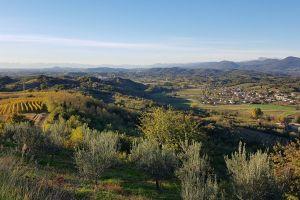 landscape hill mountain field