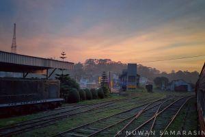 landscape train hd wallpaper srilanka
