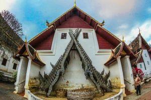 lanna bangkok building background tourism doi style chiang wat asia