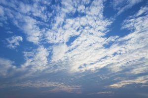 light blue cloudy cloudiness daylight mood cloud