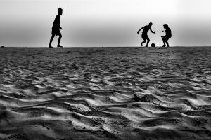 man sun summer horizon leisure people sunset landscape shore sand