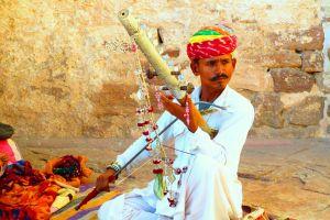man wear musical instrument traditional daylight music