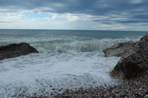 mediterranean coast bay sky city mountain montenegro nature sea water