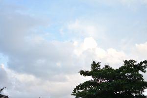 minimalism sky minimalist blue sky minimalistic