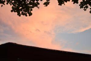 minimalist sky pink sky minimalistic minimalism
