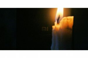mobile technology black tech dark redmi candle xiaomi fire