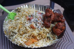 moghul continental chicken asian food goa street biriyani food rice fried