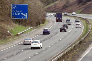 motoring porthcawl road bridgend roads highway motorway