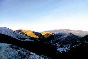 mountain cold landscape snow daylight sky scenic nature