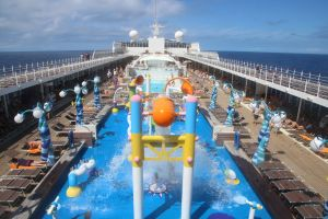 nature kids horizon holiday water play boat blue cruise cruise ship