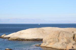nature sailboat ocean cape town south africa boulders beach sail