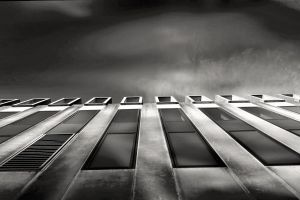offices black and white building glass low angle photography contemporary dark architecture black-and-white landscape