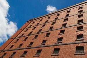 old building warehouse building abandoned bricks