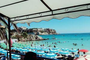 paradise beach tremiti sun