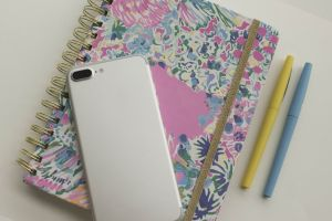 pen journal colorful write work colors pens color phone notebook