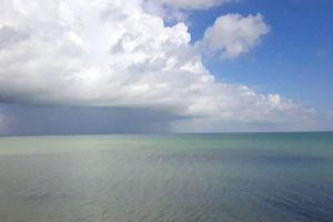 rain storm clouds ocean