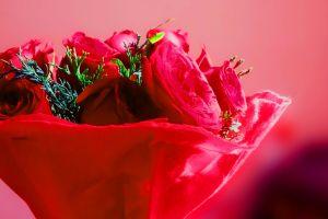 red flower roja artificial flowers rose flower