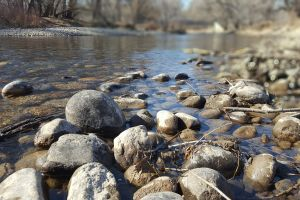 rocks nature stream outdoor water