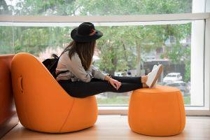 room interior design girl indoors cars trees hat solitude person furnitures