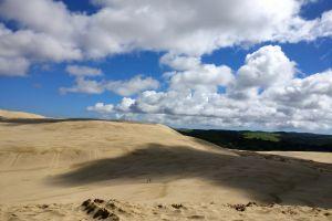 sand dunes sand desert dune arid dry sky landscape