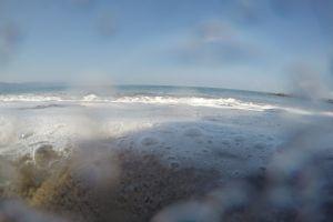 sand mexico water sea foam sea