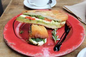 sandwwich panini lunch food