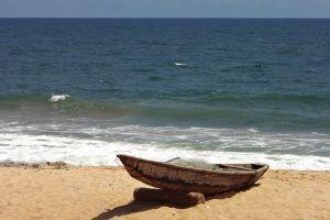 sea beach boat beach