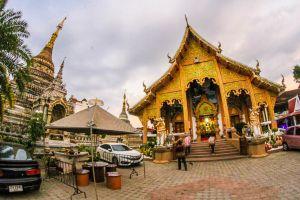 singh asian buddha style lanna culture famous suthep landmark color