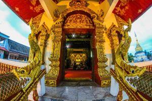 sky golden art color bangkok buddhism shing phra asia chiangmai
