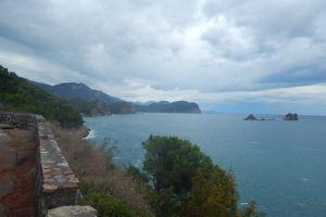 sky montenegro nature summer mediterranean city vacation tourism water fortress