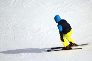snow winter ski ski slope skier