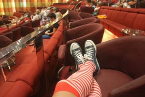 stripes fun theatre sneakers fashion background texture socks