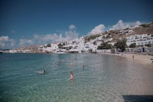 summer greece mykonos