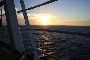 sunset ship cruise adventure boat holiday cruise ship nautical sea ocean cruise