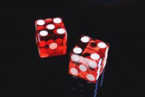 symbol play luck close-up gamble casino gambling reflection illustration shadow