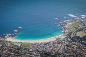 table mountain south africa beach cape town camps bay