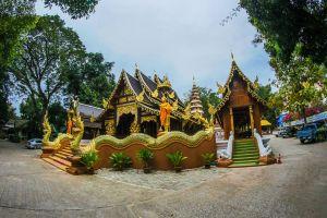 thailand peace shrine landmark panorama pagoda religious buddhism chiangmai famous