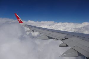 turkish airlines flight plane #notsponsored clouds turkish airlines cloud airplane