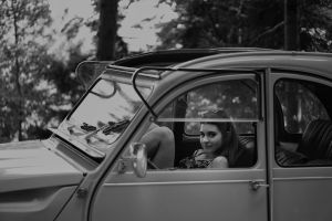 vehicle black and white car #outdoorchallenge black-and-white woman vintage person girl