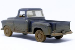 vintage car sketch road drive vehicle truck retro transportation system chevrolet