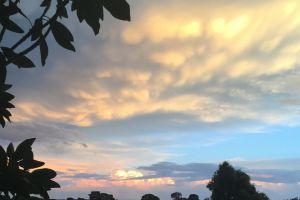 wallpaper eveningsun beforethestorm sunset