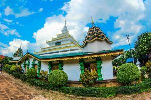 wat tourism sri wiang chai pagoda monastery structure lamphun pagoda religion buddha famous