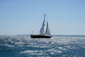 watercraft sailing yacht daylight transportation system leisure waves sailboat sail wind