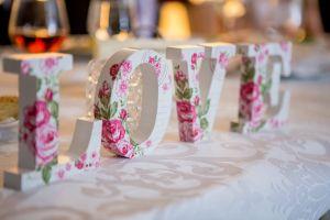 wedding creative glass items love indoors flower tablecloth tableware interior design craft