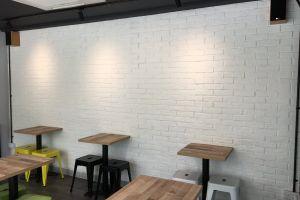 white brick brick texture wall home interior f&b brick wall