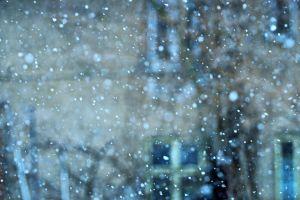 winter blurred snowing snowfall cold blur snow