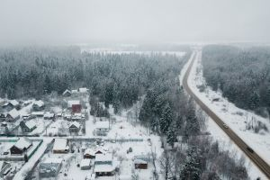 winter winter forest russia road