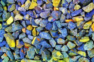 yellow industry color rocks stones environment rock hard concrete rough