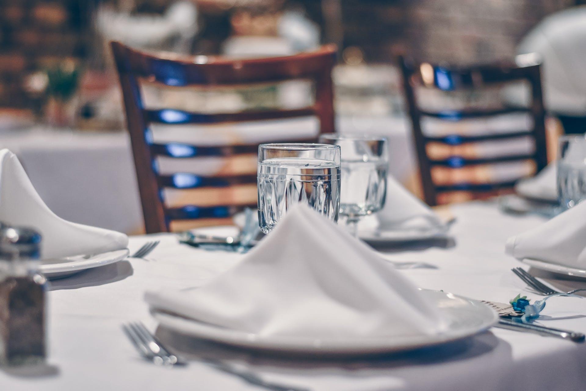 silverware new york napkin beverage room dining indoors clear food modern