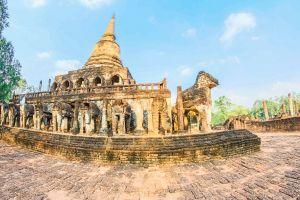 architecture buddhism park structure unesco history stupa tourism chang pagoda